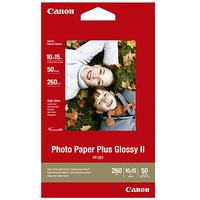 Canon PP-201 Glossy Photo Paper, 10 x 15cm, 50 Sheets