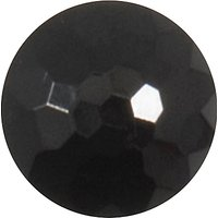 Groves Patterned Button, 10mm, Pack of 5, Black