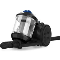 VAX Power Stretch Pet Cylinder Bagless Vacuum Cleaner - Black & Blue, Black