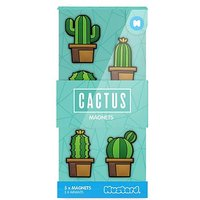 Mustard Cactus Magnets