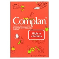 Complan Strawberry Flavour Drink Sachets 4 x 57g