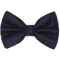 Mens Blue Abstract Bow Tie, Blue