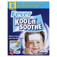 Fever Kool 'n' Soothe 4 Sheets