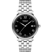 Montblanc 116483 Men's Tradition Date Automatic Bracelet Strap Watch, Silver