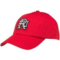 Front Up Rugby Mens Cotton Baseball Cap Front Up Red