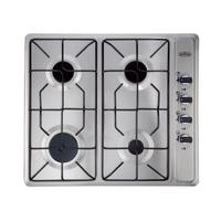BELLING GHU60GE Gas Hob - Stainless Steel, Stainless Steel