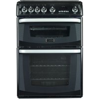CANNON Carrick CH60GCIK Gas Cooker - Black, Black