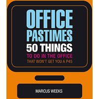 Marcus Weeks Office Pastimes Book