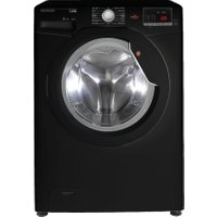 HOOVER Dynamic Link DHL 1482DBB NFC 8 kg 1400 Spin Washing Machine - Black, Black