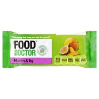 The Food Doctor Fig & Mango Cereal and Fruit Bar 35g