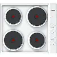 BOSCH PEE682CA1 Electric Solid Plate Hob, Red