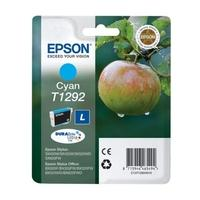 EPSON Apple T1292 Cyan Ink Cartridge, Cyan