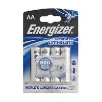 Energizer Lithium AA Batteries Pack of 4