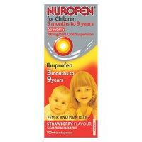 Nurofen for Children Strawberry 3 months to 9 years - 100ml
