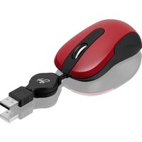 GOJI GRETMRD17 Optical Mouse - Red, Red