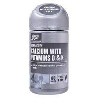 Boots Calcium with Vitamins D & K - 60 Tablets