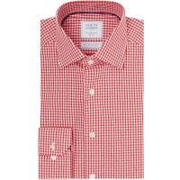 Men's Smyth and Gibson Mens Non Iron Premium Formal Shirt, Red