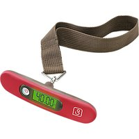 Go Travel Digital Luggage Weighing Scale, Red