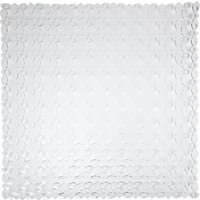 John Lewis & Partners Pebbles Square Shower Mat, Clear