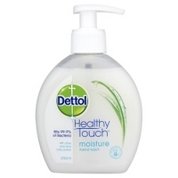 Dettol -  Moisture Hand Wash with Aloe Vera and Milk Protein 250ml