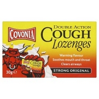 Covonia Double Action Cough Lozenges Strong Original 30g