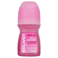 Enliven English Rose Roll-On Deodorant Anti-Perspirant 50ml