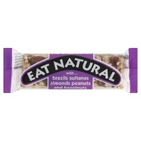 Eat Natural with... Brazils Sultanas Almonds Peanuts and Hazelnuts 50g