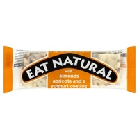 Eat Natural with... Almonds, Apricots and a Yoghurt Coating Bar 50g