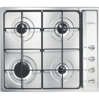SMEG S64S Gas Hob - Stainless Steel, Stainless Steel