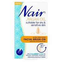 Nair Sensitive Formula Facial Brush-On 50ml