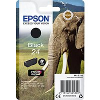 Epson Elephant T2421 Inkjet Printer Cartridge, Black