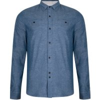 Oxbow Shirt-Blue Acid Wash -Small