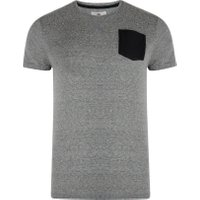 Merrywell T-Shirt-Grey Marl -Extra Large