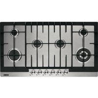 ZANUSSI ZGG96624XS Gas Hob - Stainless Steel, Stainless Steel