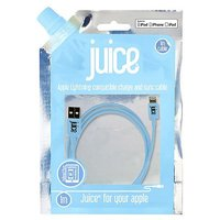 Juice Lightning Data Cable Pastel Blue