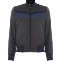 Men's PS By Paul Smith Ripstop bomber, Black