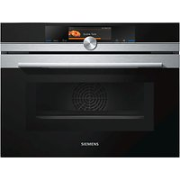 Siemens CM678G4S6B Built-In Compact Oven with Microwave, Stainless Steel/Black