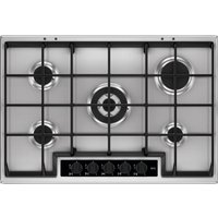 AEG HG75SY5451 Gas Hob - Stainless Steel, Stainless Steel
