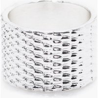 Textured Ring - silver