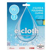 e-cloth Glass Cleaners, Pack of 2