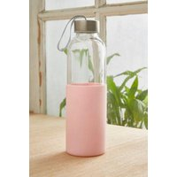 Silicone Wrap Water Bottle, Pink