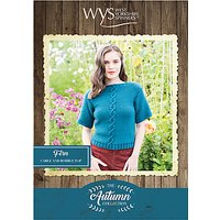West Yorkshire Spinners Bluefaced Leicester Women's Fern Top Knitting Pattern