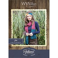 West Yorkshire Spinners Bluefaced Leicester Women's Iris Scarf and Headband Knitting Pattern