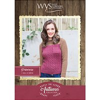 West Yorkshire Spinners Bluefaced Leicester Women's Primrose Jumper Knitting Pattern