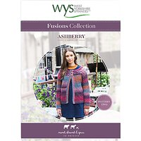 West Yorkshire Spinners Fusions Women's Ashberry Cardigan Knitting Pattern