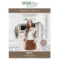West Yorkshire Spinners Fusions Women's Hawthorne Cardigan Knitting Pattern