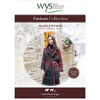 West Yorkshire Spinners Fusions Women's Maplewood Cardigan Knitting Pattern