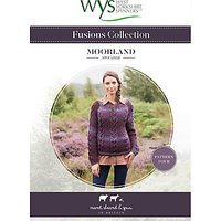 West Yorkshire Spinners Fusions Women's Moorland Sweater Knitting Pattern