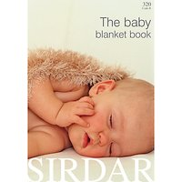 Sirdar The Baby Blanket Knitting Pattern Book
