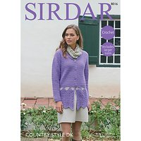 Sirdar Country Style DK Crotchet Pattern, 8016